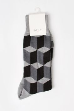 Paul Smith Cube Intarsia Socks