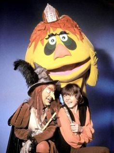 H.R. Pufnstuf Who's your friend when things get rough?