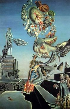 I love Dali! The Lugubrious Game, 1929 Salvador Dali Salvador Dali Gemälde, Salvador Dali Paintings, Art For Art Sake, Joan Miro, Surreal Art, Oeuvre D'art, Love Art, Illustration, Artsy