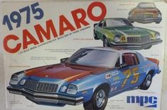 Model Cars Kits, Kit Cars, Car Kits, Camaro Models, Chevy Models, Plastic Model Kits, Plastic Models, Vintage Models, Chevy Camaro