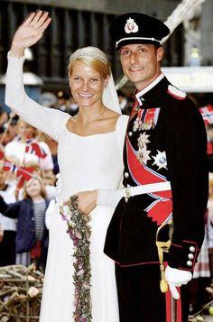 Royal Wedding ,Norway, krnonprintsa Haakon and Mette-Marit