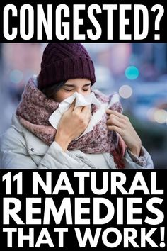 12 Natural Remedies for Congestion Relief and Stuffy Nose - Happy Healthy Tree Nasal Congestion Remedies, Natural Remedies For Congestion, Natural Cold Remedies, Natural Remedies For Anxiety, How To Relieve Congestion, Homemade Cough Remedies, Cold And Cough Remedies, Home Remedy For Cough, Cold Home Remedies