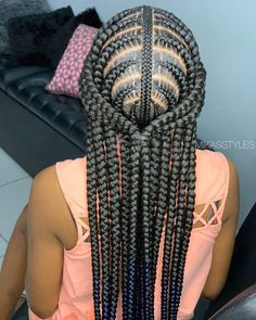 Feed In Braids Hairstyles, Braids Hairstyles Pictures, Black Girl Braided Hairstyles, Black Girl Braids, Braids For Black Hair, My Hairstyle, Girls Braids, African Hairstyles, Weave Hairstyles