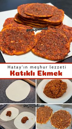 Turkish Recipes, Food And Drink, Pizza, Restaurant, Bread, Snacks, Cookies, Breakfast, Recipe