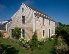Restored timber frame house unveils delightful details on Nantucket Island #house #garden