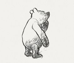 Winnie the Pooh, with original illustrations by Ernest A. Shepard (before he became Disney-fied).