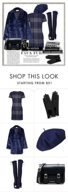 """Be stylish"" by eva-van-aardbei ❤ liked on Polyvore featuring Barbour, Mulberry, Won Hundred, Betmar, Stuart Weitzman, Dr. Martens, Chanel, polyvoreeditorial and fauxfurcoats"