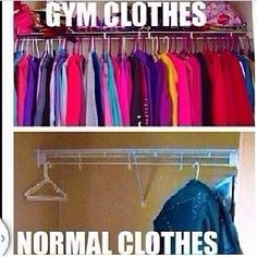 My closet is starting to look like this.