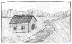 Easy landscape pencil shading shading drawing for kids simple landscape drawing for kids landscape with hatching shading home designs unlimited Landscape Drawing For Kids, Drawing Lessons For Kids, Easy Drawings For Kids, Landscape Drawings, Landscape Illustration, Cool Landscapes, Landscape Paintings, Art Lessons, Shading Drawing