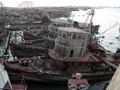 Tugboat Graveyard