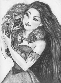 Pocahontas by linus108Nicole.deviantart.com on @deviantART