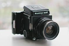 mamiya rb67 w/ polaroid back