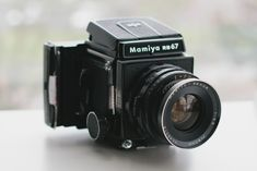 mamiya rb67 w/ polaroid back