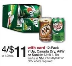 HOT! New $1/1 Canada Dry Sparkling Seltzer Water Printable Coupon (only $1.75 each at Walgreens!) - http://www.couponaholic.net/2015/08/hot-new-11-canada-dry-sparkling-seltzer-water-printable-coupon-only-1-75-each-at-walgreens/