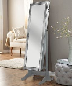 Another great find on #zulily! Silver Allure Full-Length Armoire Mirror #zulilyfinds