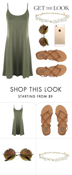 """Weekend Style"" by mfkapocias ❤ liked on Polyvore featuring WearAll, Billabong, Robert Rose and GetTheLook"