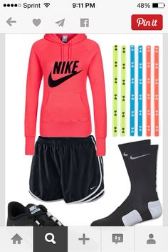 For basketball, softball, and volleyball!! Perfect outfit
