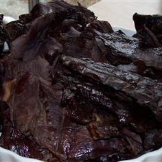 Sweet and Spicy Venison Jerky Recipe - Allrecipes.com