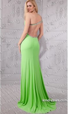 breathtaking beaded one shoulder cut out waist front side slit strapped open back gown.prom dresses,formal dresses,ball gown,homecoming dresses,party dress,evening dresses,sequin dresses,cocktail dresses,graduation dresses,formal gowns,prom gown,evening gown.