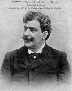 Rafael Bordalo Pinheiro (21 March 1846 - 23 January 1905) was a Portuguese artist known for his illustration, caricatures, sculpture and ceramics designs, and is considered the first Portuguese comics creator.