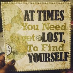 Great advice on a grad cap!