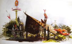 Adventureland gate, Magic Kingdom, Walt Disney World - Dorothea Redmond