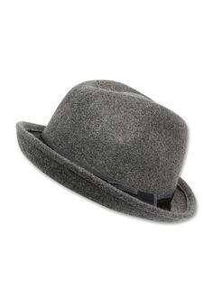 Filzhut Klassisch und eleganter Hut. Soft und leicht. Mit Schleifenband-Garnitur. Aus reinem Wollfilz.  Materialzusammensetzung:Obermaterial: 100% Wolle,  ...
