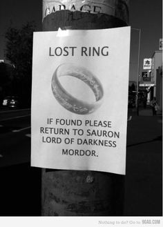Call first, though. One does not simply walk into Mordor