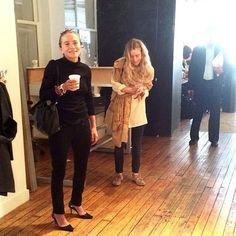 INSTAGRAM SPOTTINGS: MARY-KATE + ASHLEY   NEW YORK FASHION WEEK 2014