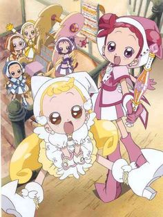 Ojamajo Doremi y trash pack Ojamajo Doremi, Cosplay, Magical Girl, Anime Style, Shoujo, My Childhood, Sailor Moon, Anime Characters, Manga Anime