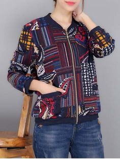 GET $50 NOW | Join RoseGal: Get YOUR $50 NOW!http://www.rosegal.com/jackets/embroidery-bomber-jacket-723888.html?seid=4021664rg723888