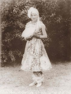 Edith Bouvier Beale (little Edie) - in costume for The East Hampton Ladies Village Improvement Society annual fair - 1929