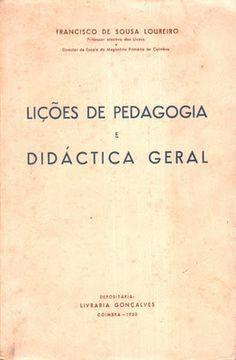 LIÇÕES DE PEDAGOGIA E DIDÁCTICA GERAL | VITALIVROS