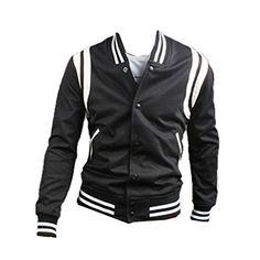 Herren Baseball Trainingsjacke Casual Hoodie Sweatshirt Pulli Top Jacke Pullover (46,black) Fashion Season http://www.amazon.de/dp/B00N2I7RHG/ref=cm_sw_r_pi_dp_mEdbub0FY1M5H