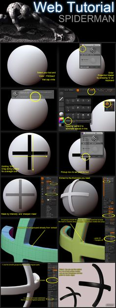 ZBRUSH tutorial by ~soulty666 on deviantART