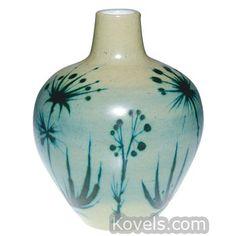Delft Teasels, Porcelyne Fles, Marked Vase
