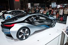 BMW Concept electric car