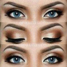 12 Pretty and Easy Ideas For Makeup For Blue Eyes | Gurl.com