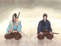 Manga Girl, Manga Anime, Anime Art, Samurai Concept, Vagabond Manga, Inoue Takehiko, Martial, Asian Sculptures, Samurai Artwork