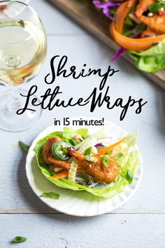 If you're looking for some super yummy Christmas dinner recipes, then this list is just for you. Shrimp Lettuce Wraps, Lettuce Wrap Recipes, Quick Weeknight Meals, Easy Meals, Seafood Recipes, Dinner Recipes, Lobster Recipes, Beef Recipes, Dinner Ideas