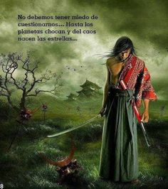 Life is warrior, Not worrier Aikido, Frases Samurai, Samurai Anime, The Last Samurai, Beauty In Art, Musashi, Samurai Warrior, Linkin Park, Spanish Quotes