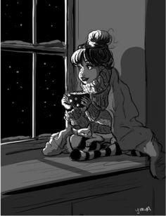 18теплых иллюстраций, которые поймутте, кто живет один