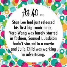 Image result for wisdom about turning 40