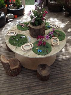 Atelier Area - Insects and magnifying glasses on grass spots Reggio Emilia Classroom, Reggio Inspired Classrooms, Reggio Classroom, Outdoor Classroom, Preschool Classroom, Teaching Kindergarten, Outdoor Learning Spaces, Outdoor Education, Early Education