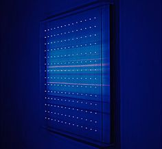 Susanne Rottenbacher farbraum 470e (2006) 140x140x15cm night modus
