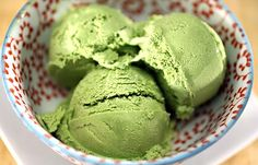 Green tea ice cream- a recipe I will make in the states to remind me of Thailand.