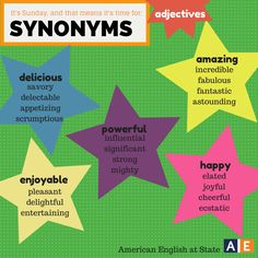 Avoiding synonyms