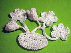 Ravelry: Violets Bunch Crochet Pattern pattern by Camelia Shanahan... Free pattern!