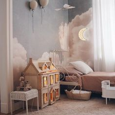 Stylish & Chic Kids Room Decorating Ideas - for Girls & .- Stylish & Chic Kids Room Decorating Ideas – for Girls & Boys Eye-opening kids room paint ideas //kids room curtains - Playroom Decor, Decor Room, Bedroom Decor, Wall Decor, Playroom Furniture, Room Decorations, Kids Decor, Design Bedroom, Christmas Decorations
