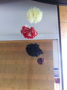 Pom Poms & Honeycomb balls